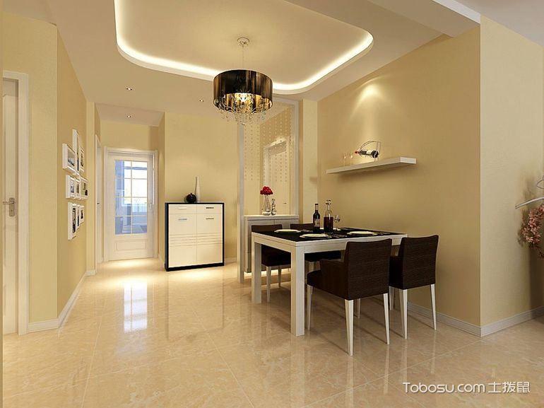 现代简约地板砖效果图