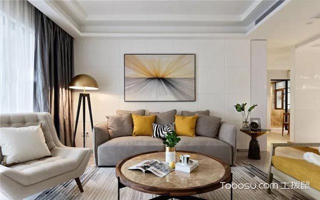 客厅沙发背景墙单幅装饰画