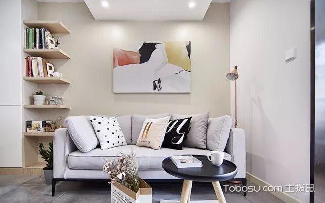客厅沙发背景墙装饰画搭配注意细节
