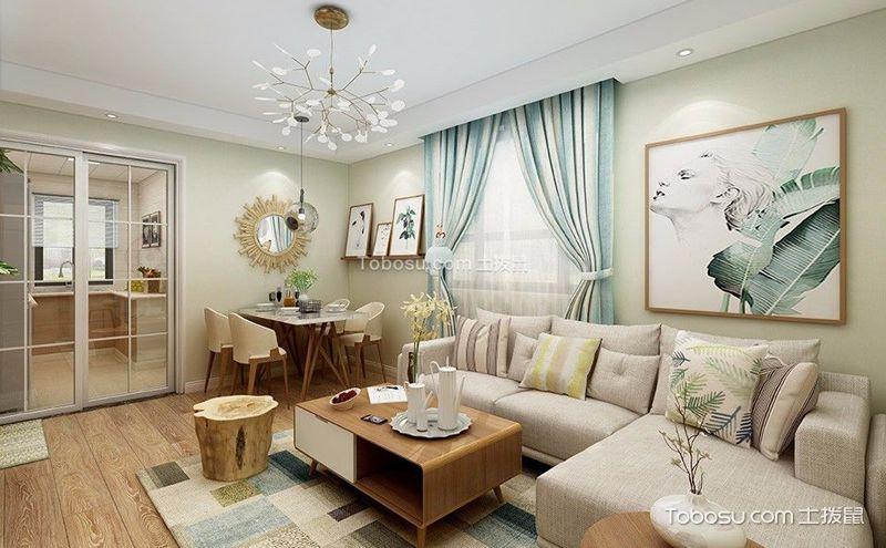 小户型客厅装修效果图大全,打造时尚个性化客厅