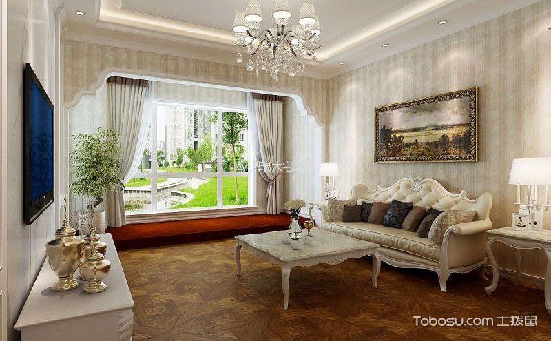 客厅飘窗装饰效果图,小细节展现美观别致