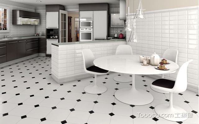 房子装修地板砖效果图之现代风格