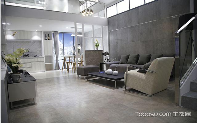 房子装修地板砖效果图之北欧风格