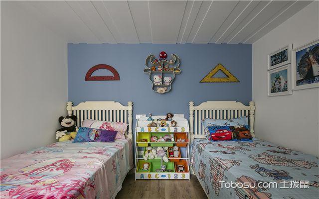 美式风格装修样板间-儿童房