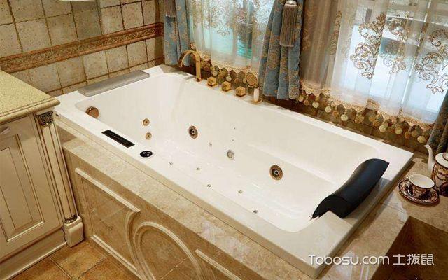 嵌入式浴缸安装注意事项