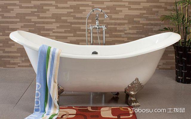 不同类型的浴缸安装注意事项