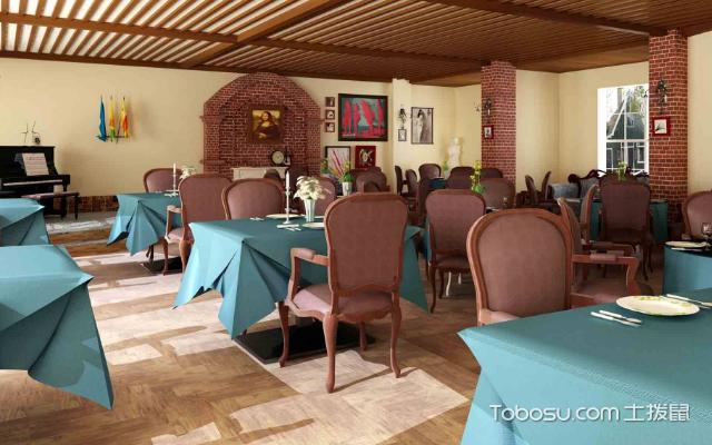 茶餐厅装修效果图,风格设计