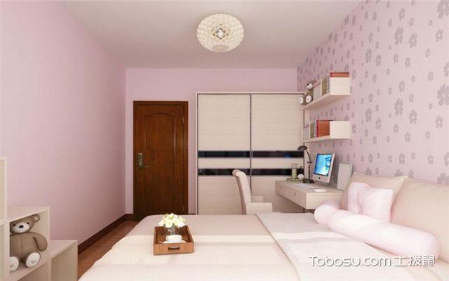 家装壁纸效果图之温馨浪漫