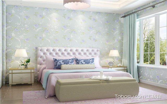 家装壁纸效果图之甜美清新