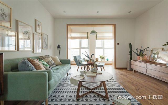家庭地板装修效果图之田园风格