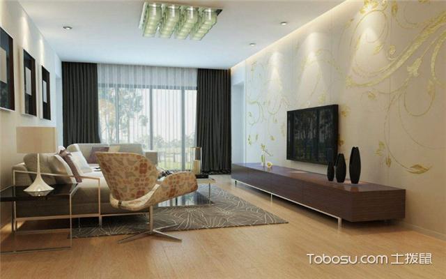 家庭地板装修效果图之成熟稳重