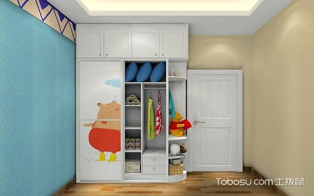 儿童衣柜如何选购之款式