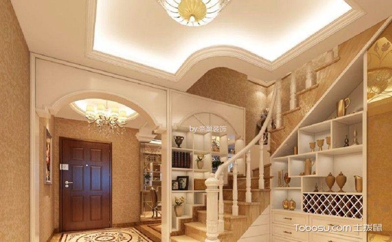 楼梯背景墙装修效果图,让被忽视的角落发光