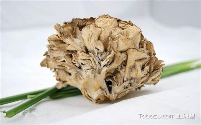 灰树花的功效与作用之方便消肿