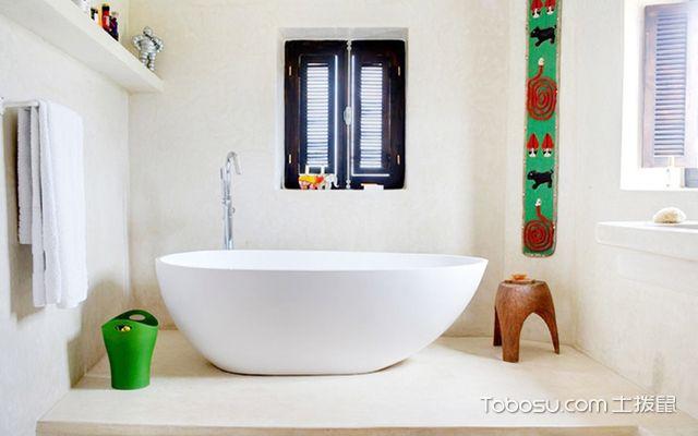 浴室布置效果图