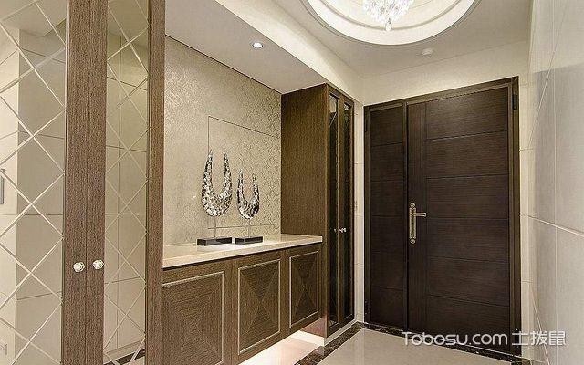 室内玄关如何装修设计之地面材料的选择