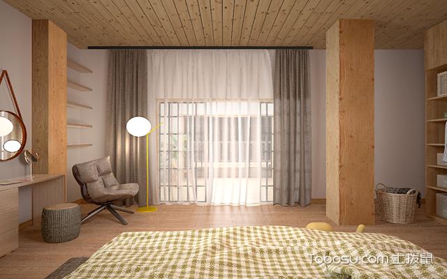 2018年生态木装饰效果图卧室