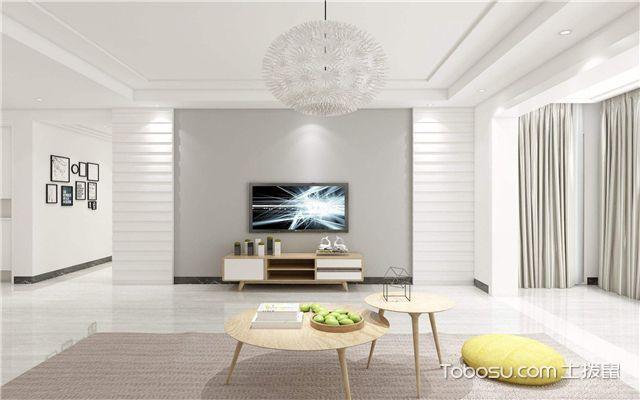 时尚简约电视背景墙之简约大气