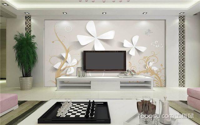 时尚简约电视背景墙之温馨雅致