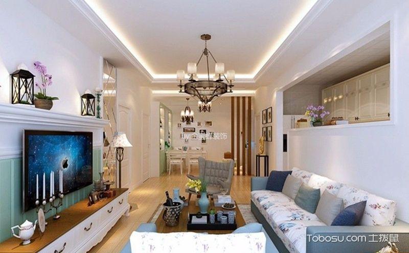 韩式风三居室装潢图,给你一个简约温馨的家