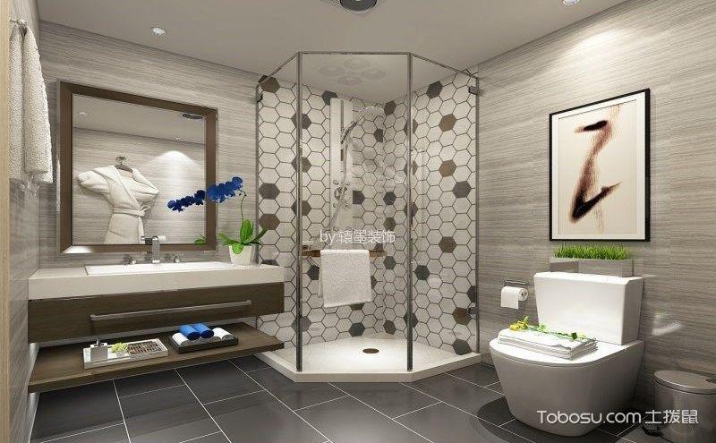 后现代卫生间装修案例,拒绝脏乱差的私密空间