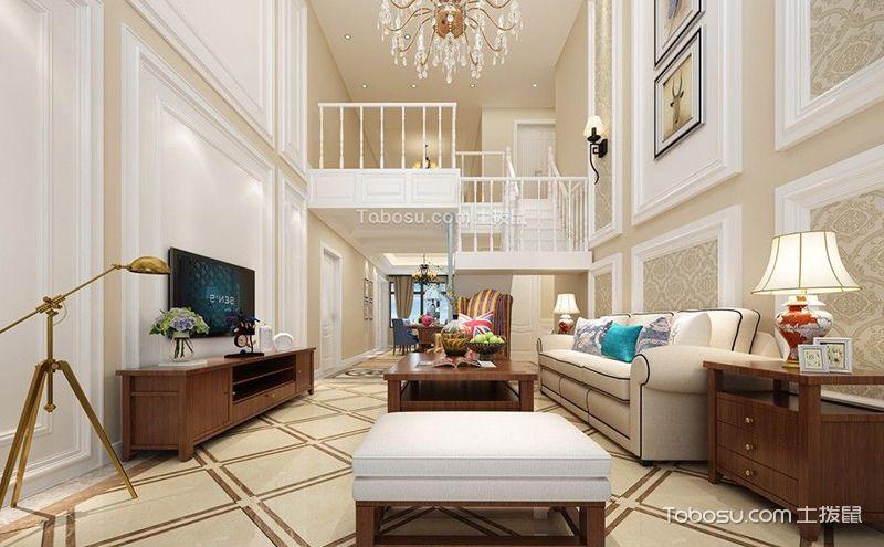 客厅楼梯装潢设计图,给你的家多一个吸睛的细节