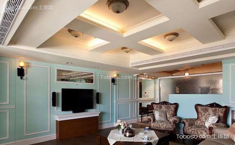 美式别墅设计案例,给你个不一样的糖果色的家