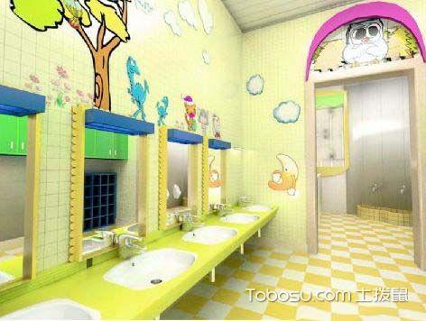 幼儿园卫生间效果图,用装修来保留童心图片