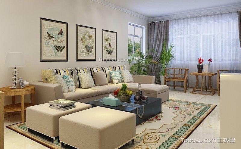 简约客厅装修设计图,简洁的设计同样带来舒适图片