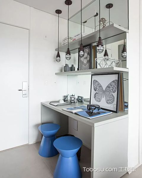 33平米小公寓装修图之玄关设计