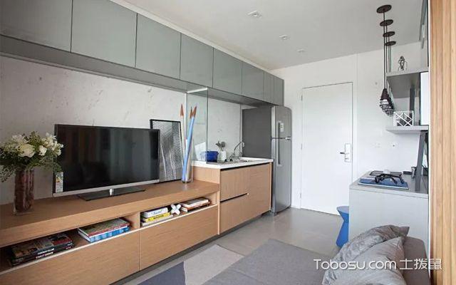 33平米小公寓装修图
