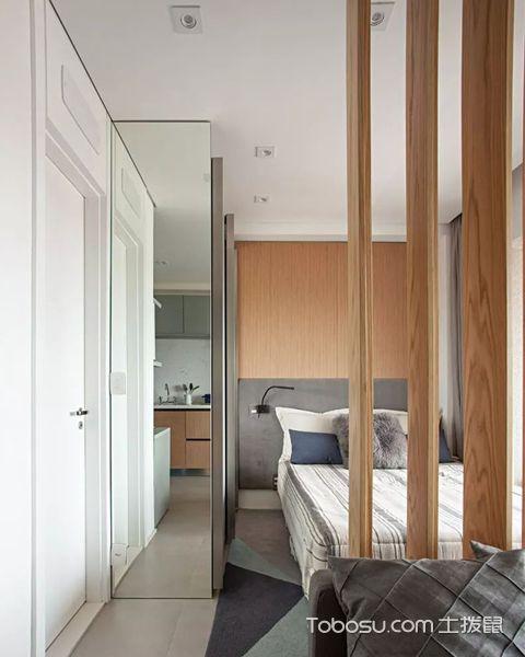33平米小公寓装修图之卫生间设计