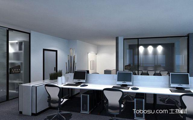 100平方办公室装修效果图,100平方办公室装修如何设计