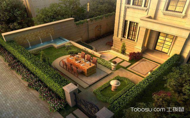 大气烟台别墅庭院设计