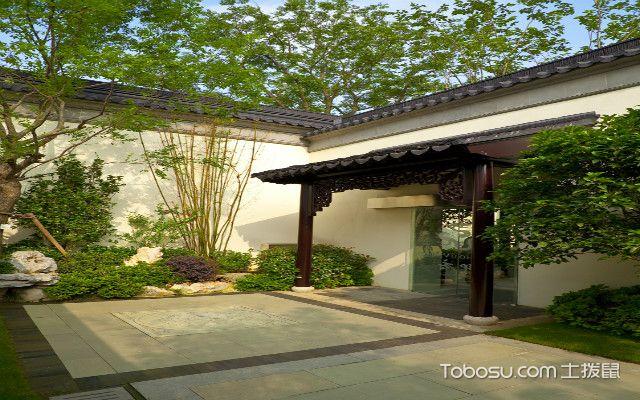 中式烟台别墅庭院设计