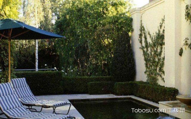 休闲风烟台别墅庭院设计