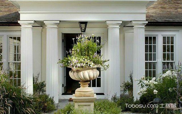 欧式烟台别墅庭院设计