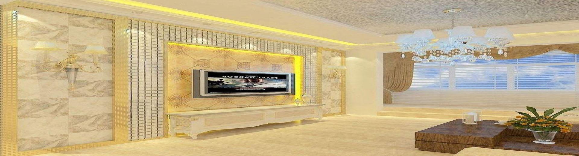 瓷磚背景墻裝飾效果圖案例,大氣華美別具一格