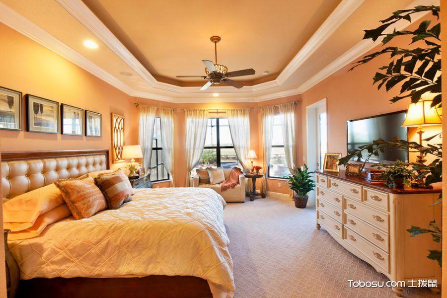 40平米卧室装潢图,极尽奢华精致唯美