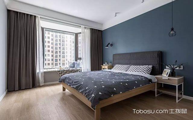 北欧风格卧室布置效果图图片
