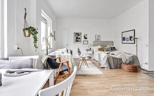 33平米单身公寓装修