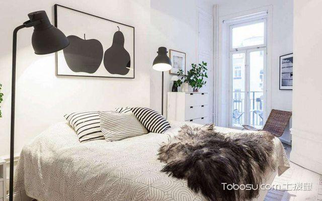 北欧大户型u乐娱乐平台案例卧室