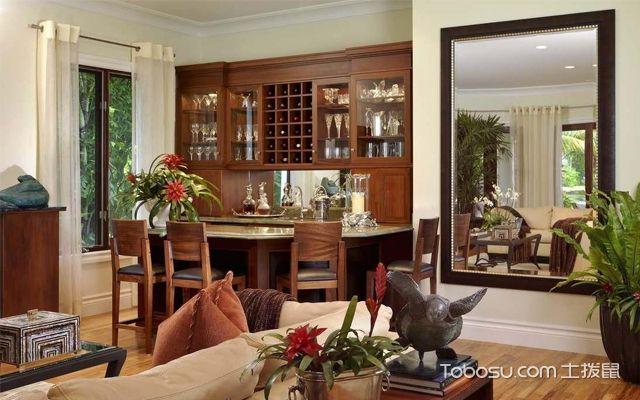 客厅可以放镜子吗