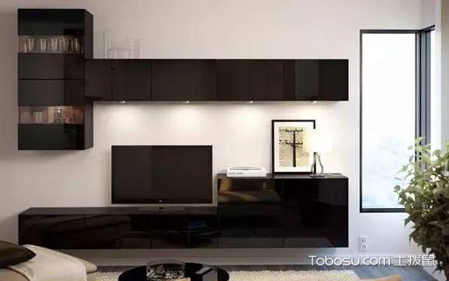 宜家电视背景墙装修效果图