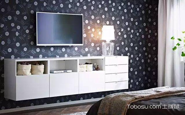 宜家电视背景墙装修设计