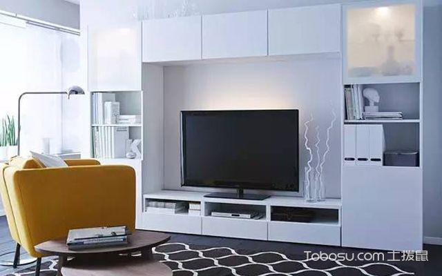 宜家电视背景墙装修设计技巧