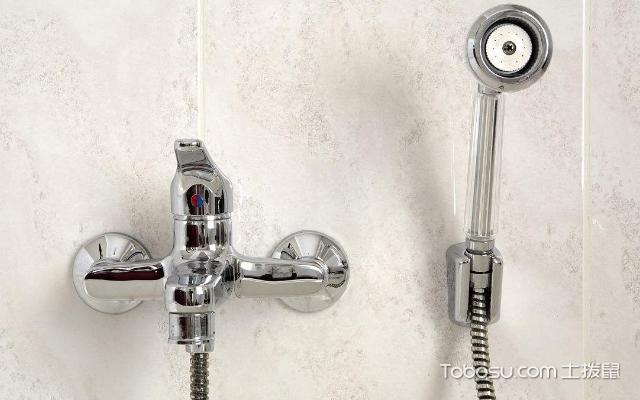 花洒淋浴喷头怎么安装 方法