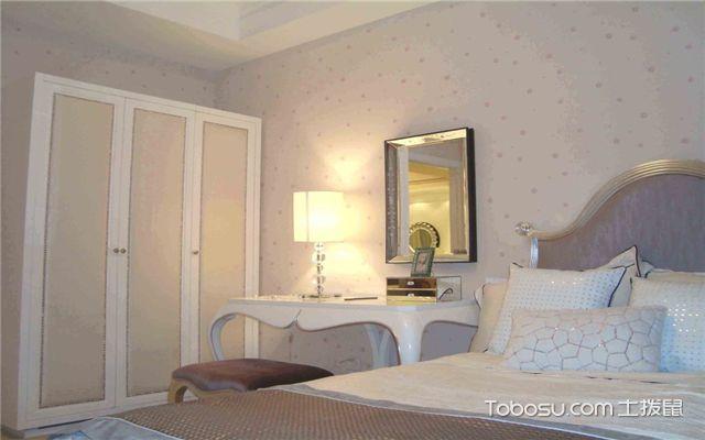 卧室壁纸选购注意事项之胶牢固性
