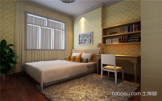 卧室壁纸选购注意事项致几何图案壁纸