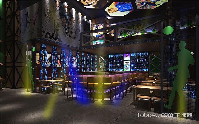 酒吧的区域设计 -餐桌区设计
